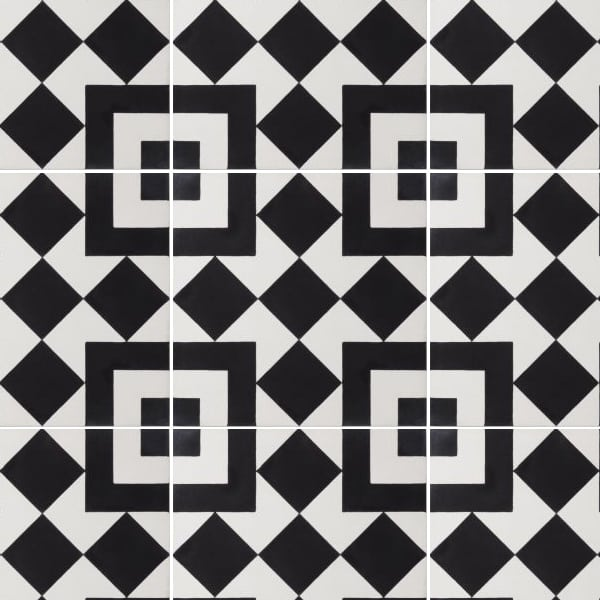 El Fenn Black Tile
