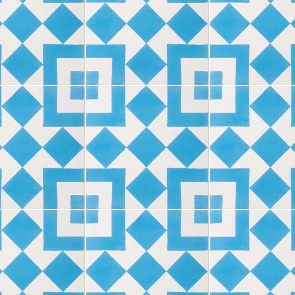 El Fenn Blue Tile