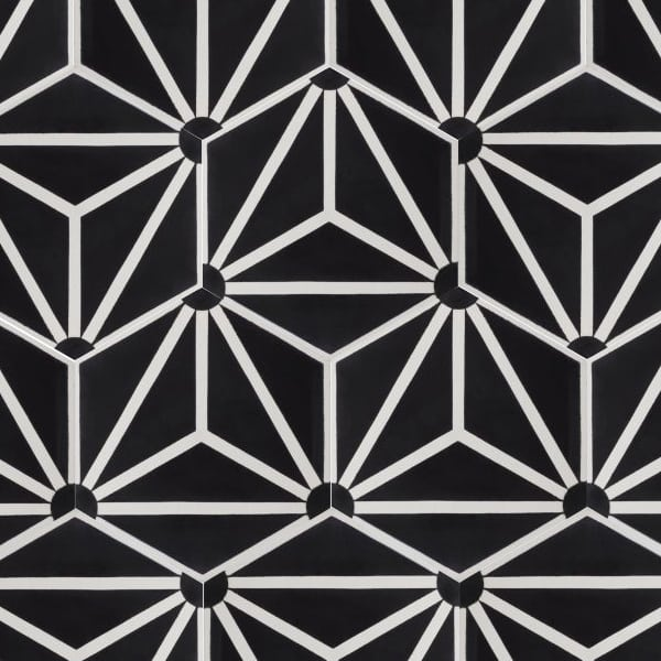 Knox Black Tile