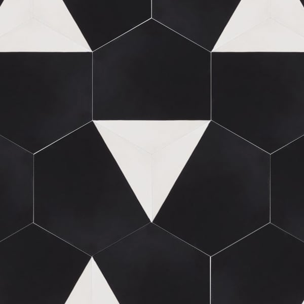 Vertex Black Tile