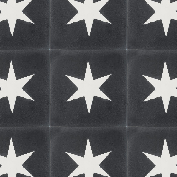 Superstar Black Tile