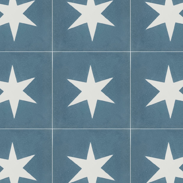 Superstar Blue Tile