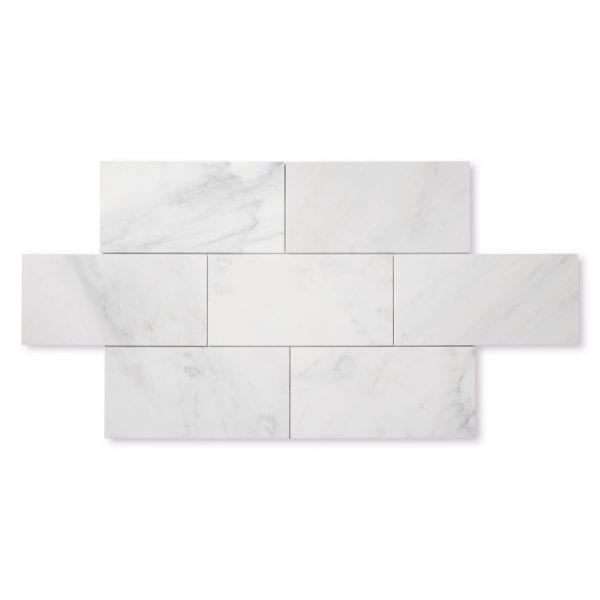 Casablanca Carrara Marble - Honed - 6