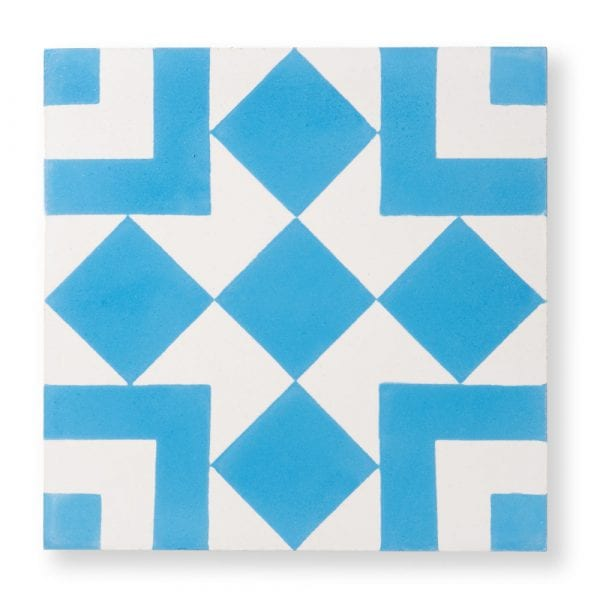 Sample: El Fenn Blue Tile