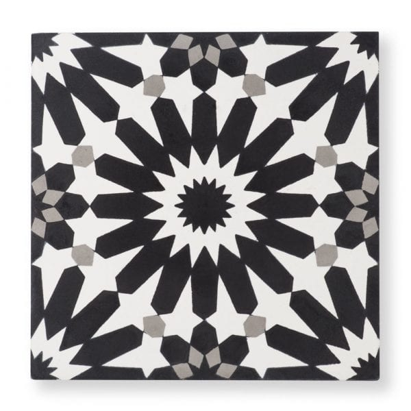 Sample: Erizo Black Tile