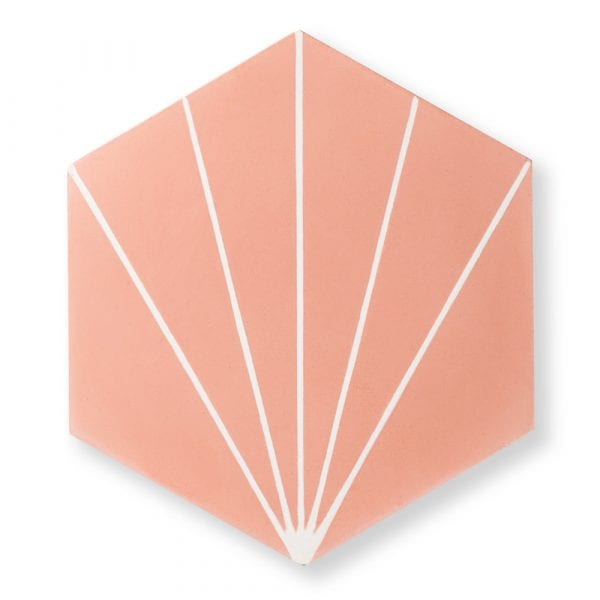 Sample: Nola Pink Tile