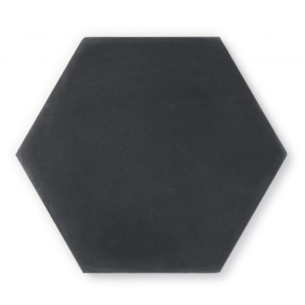 Sample: Solid Black Hexagon