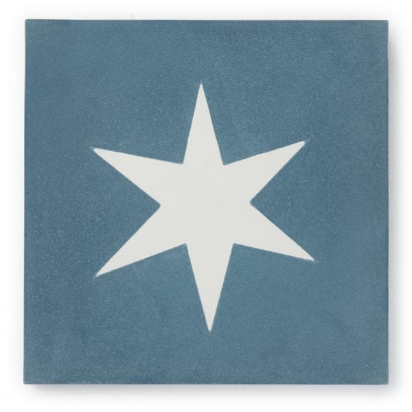 Sample: Superstar Blue Tile