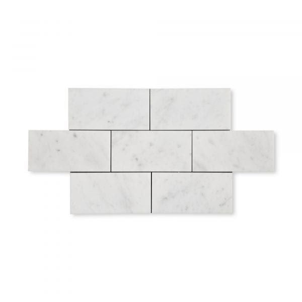 Carrara Bianco Marble - Honed - 3