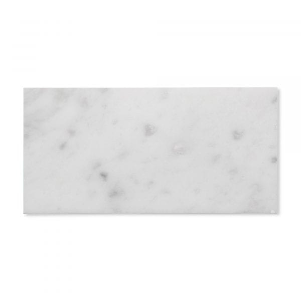 Sample: Carrara Bianco Marble - Honed - 3