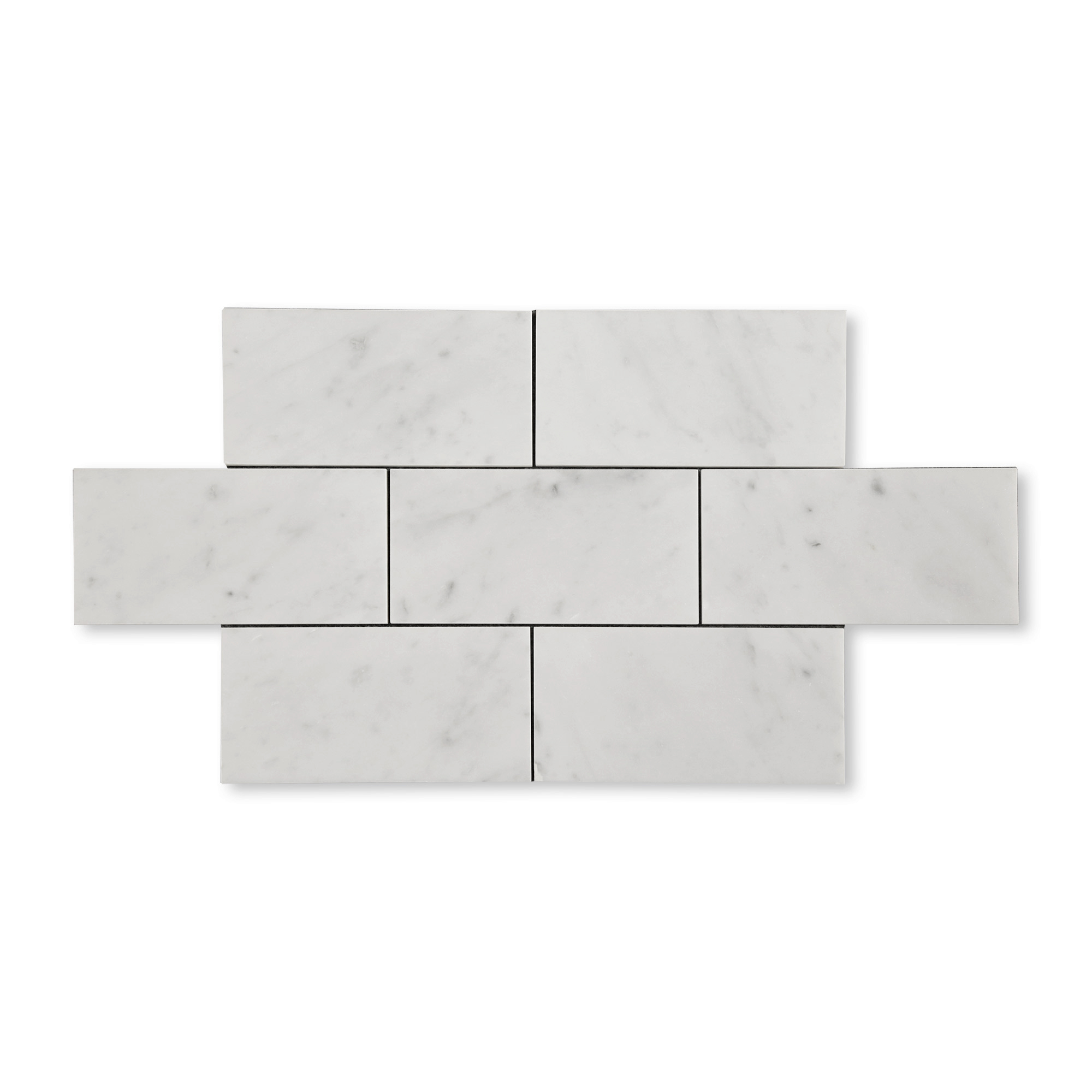 Carrara Bianco Marble - Honed - 4