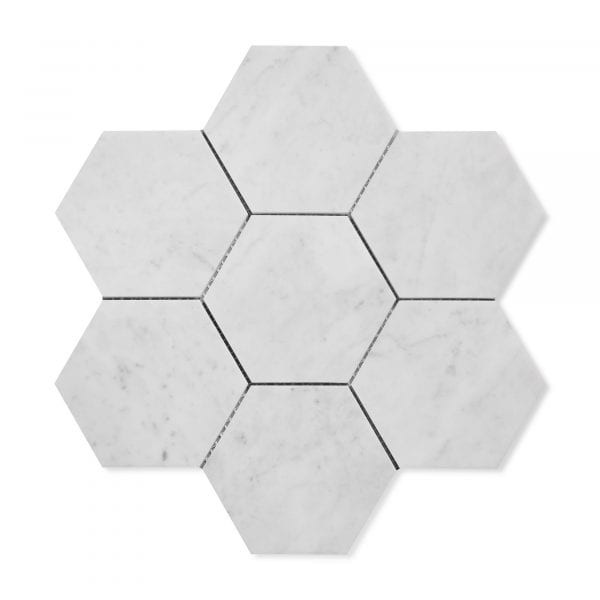 Carrara Bianco Marble - Honed - 5