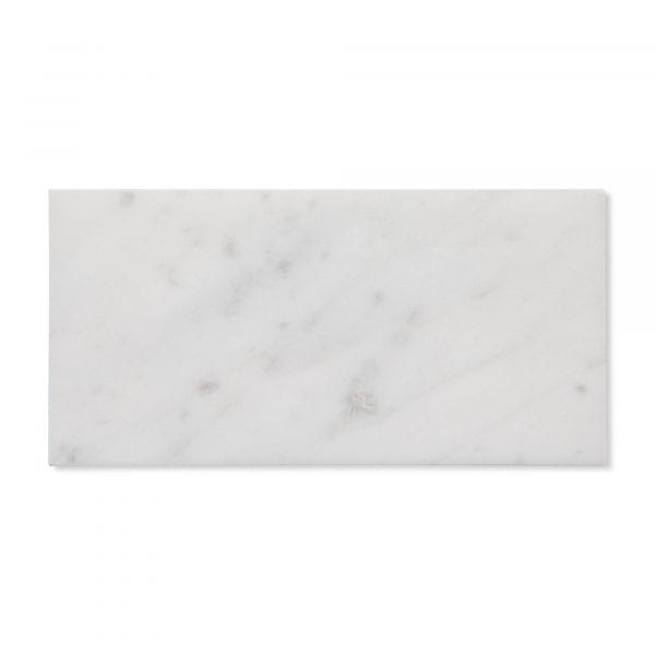 Sample: Carrara Bianco Marble - Honed - 6