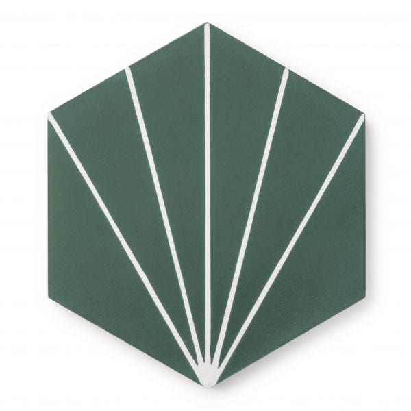 Sample: Nola Green Tile