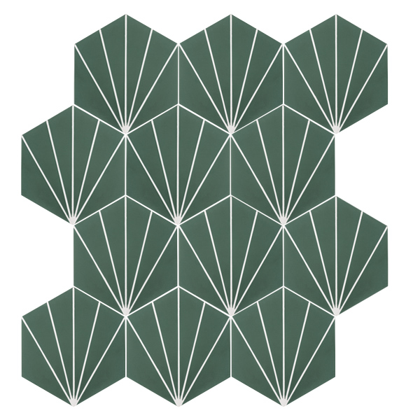 Nola Green Tile