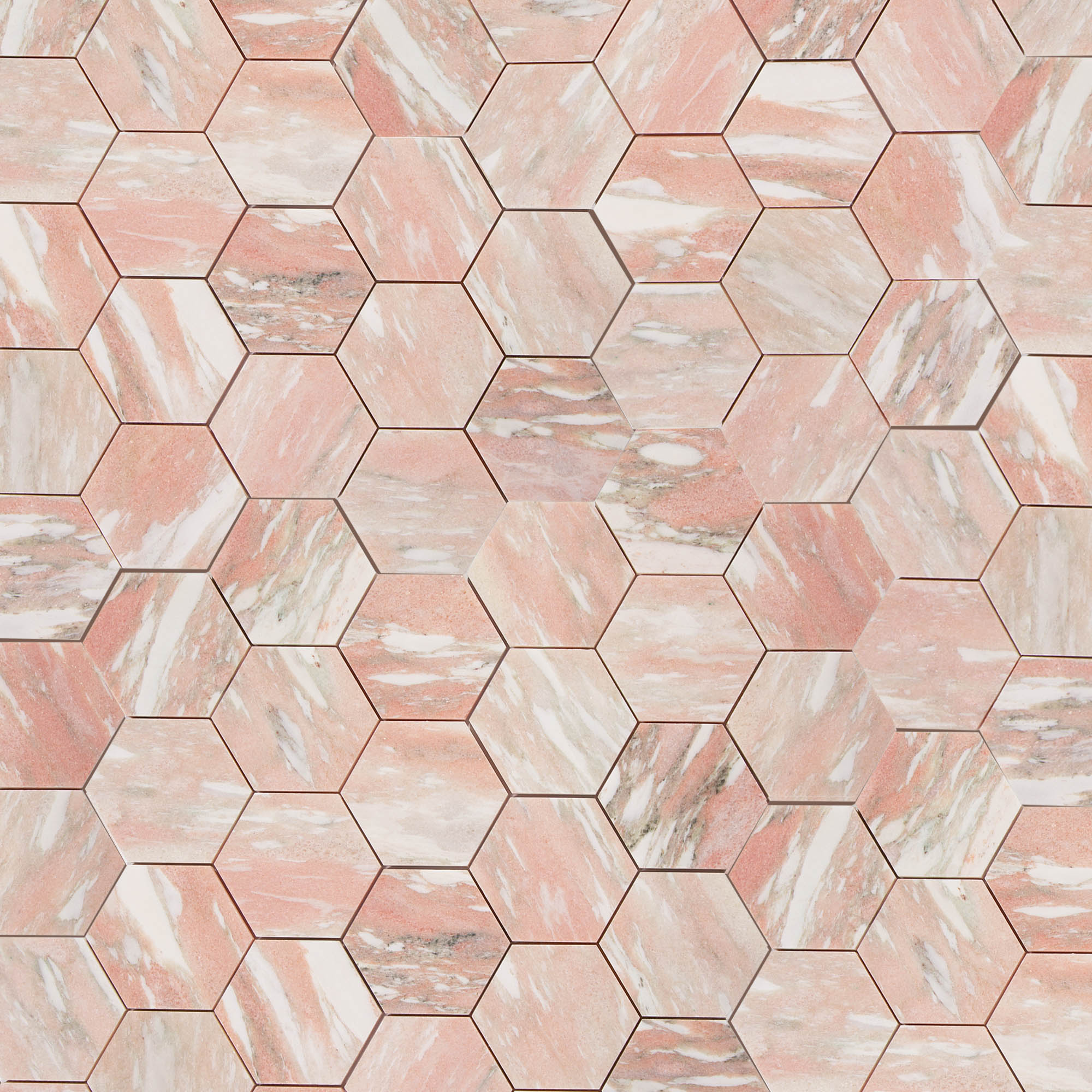 Norwegian Rose Marble - Honed - 5