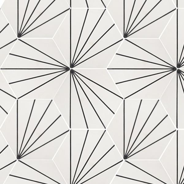 Nola White Tile
