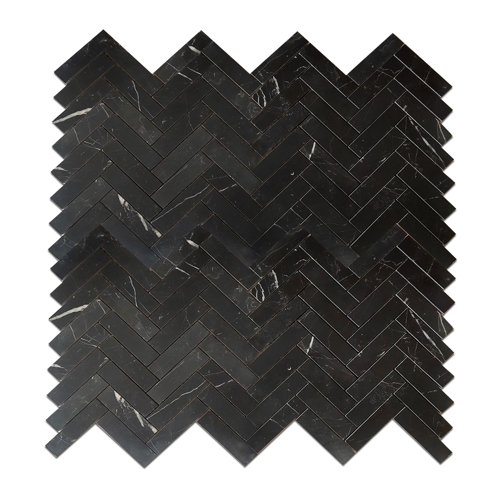 Nero Marquina Black Marble - Honed - 1